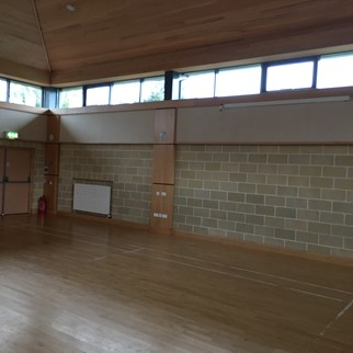 Acousta Tex Colinwell Acoustic Block - Church Hall, Comber, Northern Ireland - Colour: Sandstone