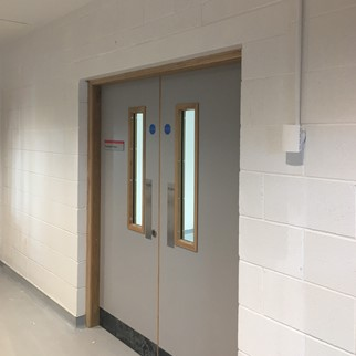 Training Centre, Belfast - Smooth Paint Grade - Painted White.JPG